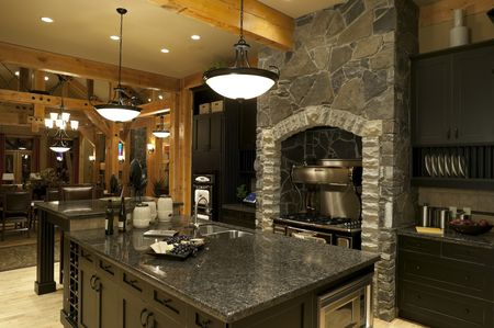 Luxury Kitchen - Modern Rustic